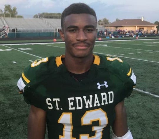 Lakewood (Ohio) St. Edward wide receiver Montorie Foster`
