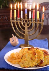 There's more to Hanukkah food than latkes.