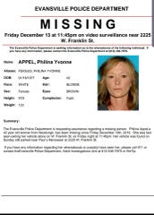 Missing poster from EPD for Philina Appel.