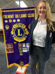 Karin Dahnke was named a Fremont Lions Club Student of the Month.