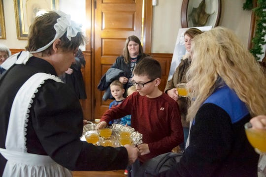 Participants in Hayes Home Holidays will enjoy wassail, a traditional holiday drink from President Rutherford and First Lady Lucy Hayes' time.