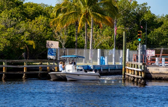 The Chiquita Locks in southwest Cape Coral. The state Department of Environmental Protection has issued a final order denying the city's application for a permit to remove the locks.