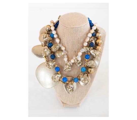 Necklaces designed by Brice Hipp