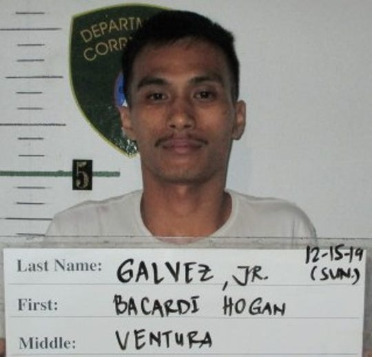 Bacardi Galvez Jr. is charged with forgery as a third-degree felony.