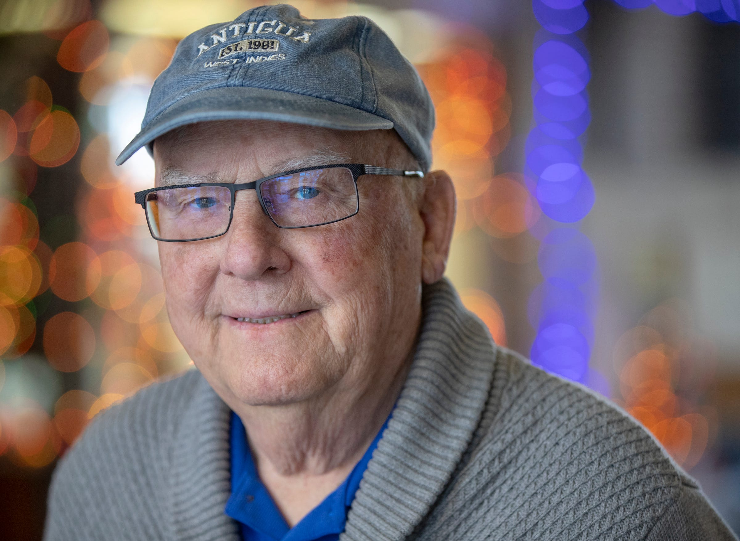 Jim Hensley oversees the UAW union hall, which services inactive unions Locals 662 and 663 and the active Local 1963 in Anderson, Friday, Dec. 13, 2019. The 83-year-old retired employee of Guide Corporation was working when a toxic discharge of chemicals originating at Guide polluted 50 miles of the White River in 1999.