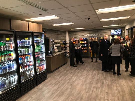 Passenger and visitors to the Capital Region International Airport can now use a self-checkout market.