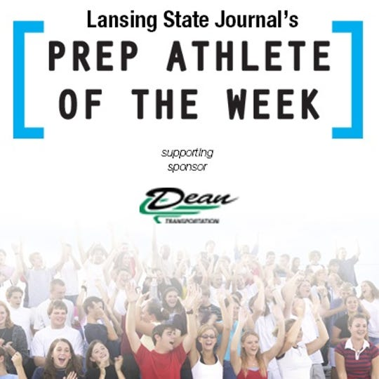 Pick the latest Lansing State Journal high school athlete of the week winner