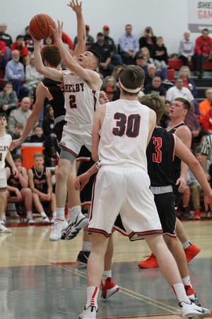 Shelby's Grant Hiatt has emerged as an offensive threat for a very deep Whippet team.