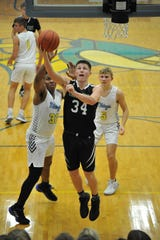 Clear Fork's Ethan Delaney scored 22 points in a loss to River Valley on Friday night.