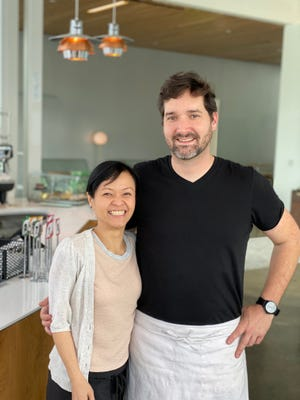Lena and Tim Barker are the owners of Edge Alley and their newest restaurant MidPointe located in the Ballet Memphis building in Overton Square.