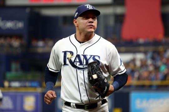 Avisail Garcia has played right field for the Tampa Bay Rays.