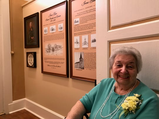 Irene Blau was the foundingpresident of the Germantown Historical Society in 1974 and held the position until 2009.  The historical society recognized her years of service Sept. 16, 2017