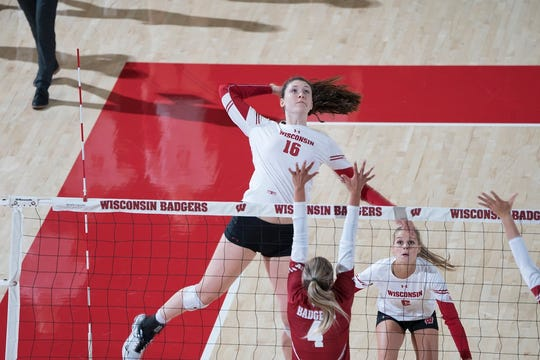 Dana Rettke was named Big Ten volleyball player of the year