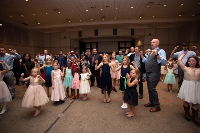 The Pike Road Father-Daughter dance will be held at St. James United Methodist Church on Vaughn Road on Feb. 8.