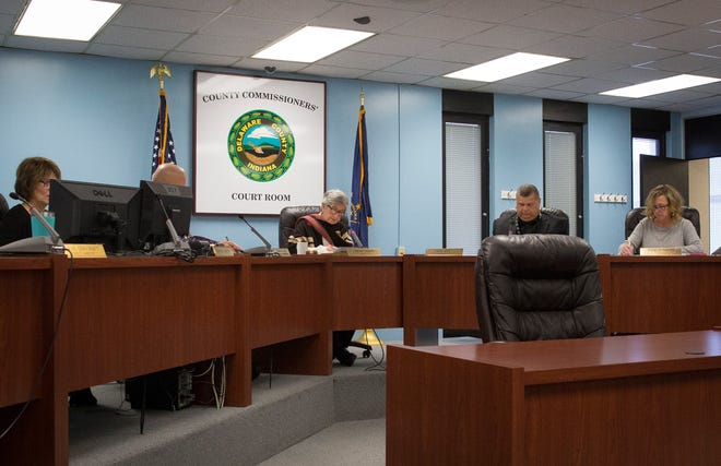 The Delaware County Commissioners hear different items on the agenda for the second December, 2019 meeting.
