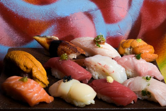Sushi by Bou offers omakase dining at Ani Ramen.