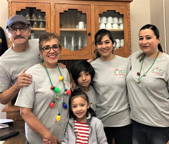 The Sal Lopez family began the tradition and continue to brighten Christmas for many others.