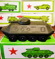 Even the former Soviet Union made die-cast models, though mostly of military vehicles.
