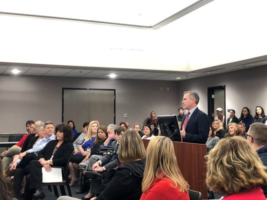 The Peoria Unified School District chose Jason Reynolds as its new superintendent. Reynolds has worked for the district since July as deputy superintendent.