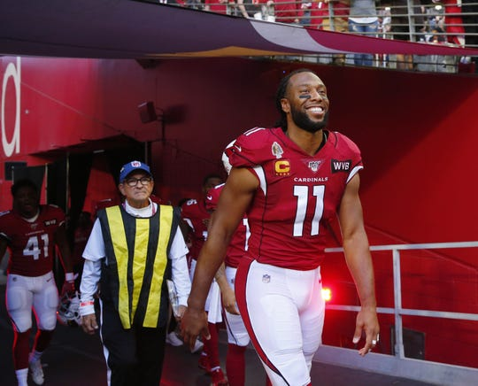 Larry Fitzgerald has had quite the NFL career. It's not over yet.