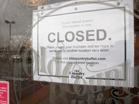 Old Country Buffet in York is now closed. The restaurant located at 905 Loucks Road had this closed sign posted on the door as of Monday, Dec. 16, 2019.