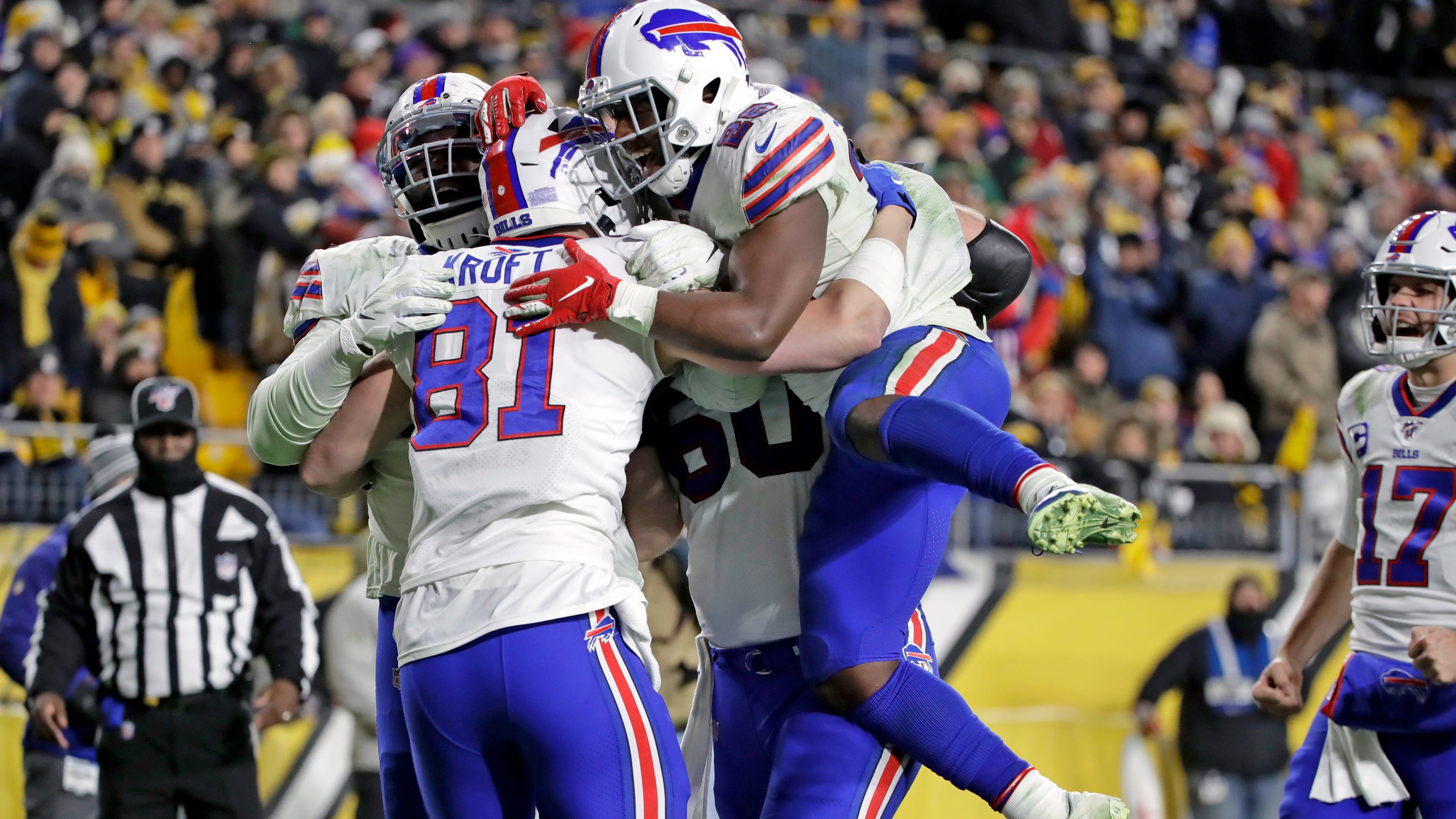 Buffalo Bills clinch AFC playoff spot with win vs. Pittsburgh Steelers
