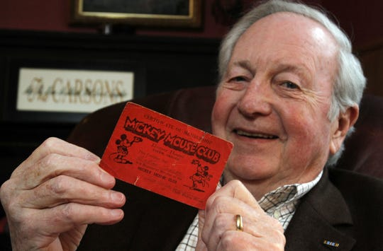 Former Oregon Supreme Court Justice Wallace P. Carson Jr. still carries his Mickey Mouse Club membership card in his wallet. He remembers going to the Historic Elsinore Theatre on Saturday mornings to watch the entertainment.