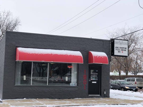 The outside of Sunny's Pizzeria in Sioux Falls on Dec. 16, 2019.