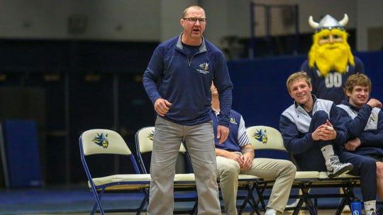 Jason Reitmeier has been Augustana's wrestling coach since 2003