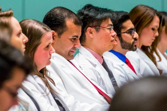 Tadros, 38, is one of the 37 members of the inaugural class in the Florida State University School of Physician Assistant Practice.