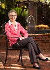 Cathy Adkison, president and CEO of Big Bend Hospice, poses in Tallahassee, Fla on Thursday, October 10, 2013.