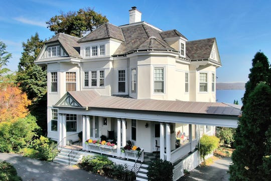 A circa 1878 riverfront home at 251 North Broadway in Nyack is now on the market for $2.295 million.