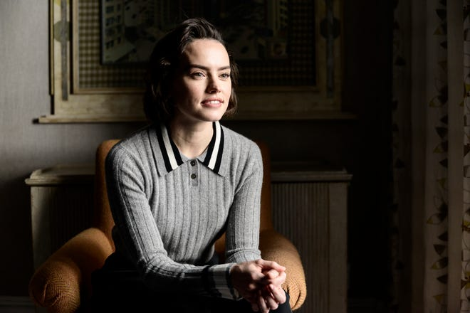 "Daisy Ridley talks about ending her ""Star Wars"" time with ""Rise of Skywalker,"" at the The Whitby Hotel in New York on Nov. 25, 2019."