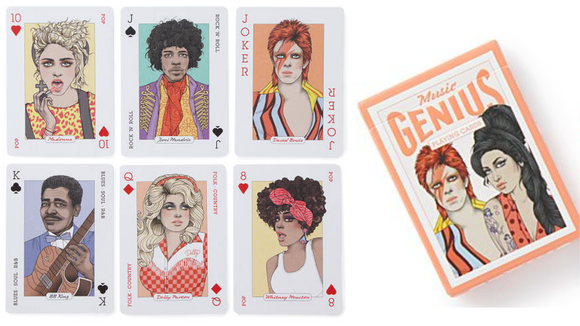 Best gifts under $20: Music Playing Cards