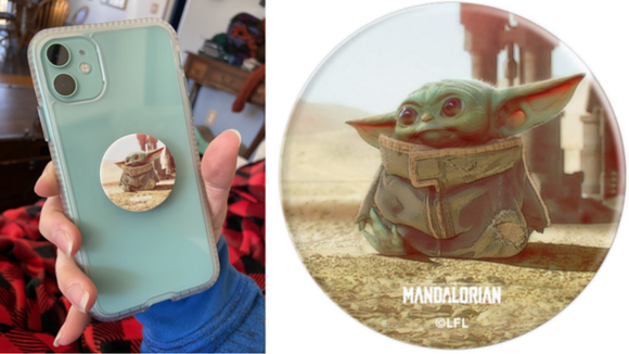 Best gifts under $20: Baby Yoda Popsocket