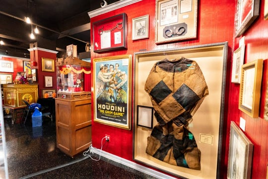 A look inside the Houdini Museum of New York. Rajon Lynch, a Racine native, came on as director of the museum in September.