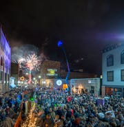 Downtown Binghamton will ring in the new year with a ball drop and fireworks.