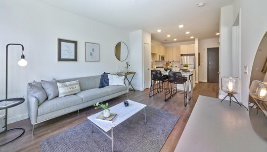 Leasing will kick off next month at The MInt, 116 luxury rental residences in the city's downtown area, just steps away from New Jersey Transit's Rahway station,