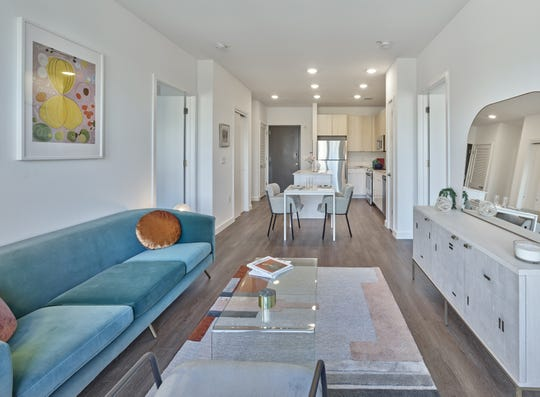 Leasing will kick off next month at The MInt, 116 luxury rental residences in the city's downtown area, near New Jersey Transit's Rahway station,