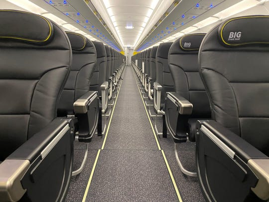 Spirit S Redesigned Cabins Comfortable Seats And Fuel