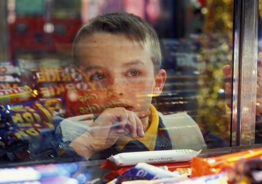 """Alex Etel in the film """"Millions."""""""