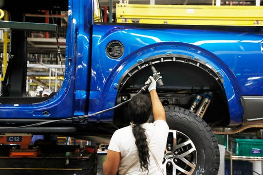 At the Dearborn Truck Plant,Ford will add 300 jobs and invest about $700 million to support the production of the new hybrid and fully electric 2020 F-150 trucks. Fordalso will create a new operation for the assembly of battery cell packs on theDearborn plant campus.