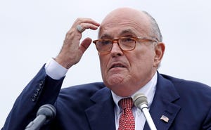 Rudy Giuliani, attorney for President Donald Trump