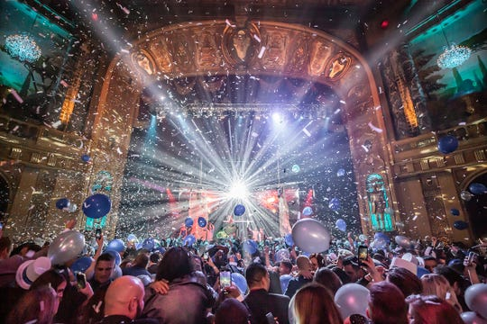 The Resolution Ball returns to the Fillmore Detroit on Dec. 31 for a grand gala.