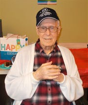 Walert Auxter, veteran and former owner of the Mitchell-Auxter Funeral Home in Clyde, turned 100 on Dec. 15.