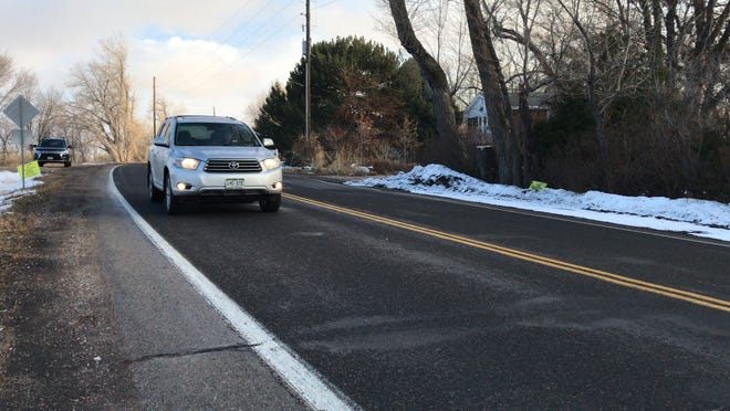 Sections of Country Club Road in north Fort Collins average about 8,000 vehicles a day.