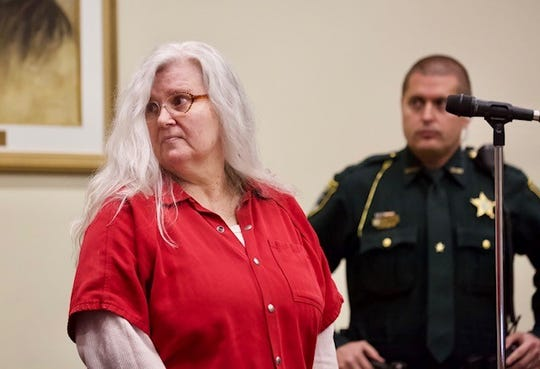 Lois Riess pleaded guilty on Tuesday, Dec. 17, 2019 to the 2018 homicide of Pamela Hutchinson at a Fort Myers Beach condo and will serve a life sentence for the killing.