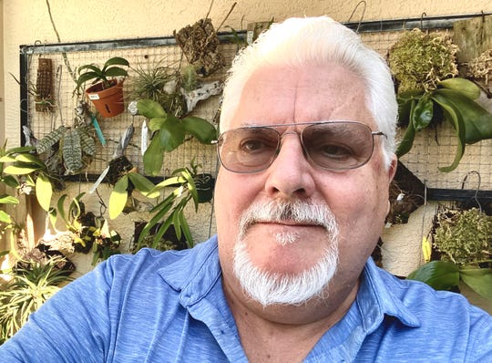 John Hampton is the president of the Southwest Florida Orchid Society.