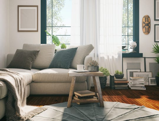 """Adding wood, soft textiles and other natural materials with interesting textures is another way to make your home feel more """"alive"""" and warm."""