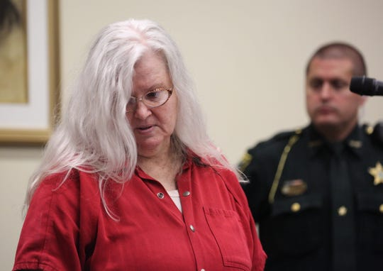 Lois Riess pleaded guilty on Tuesday, Dec. 17, 2019, to the 2018 murder of Pamela Hutchinson on Fort Myers Beach.